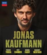 ヨナス・カウフマン〜4つのオペラ全曲 トスカ、カルメン、ファウスト、ウェルテル(4BD)