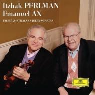R.Strauss Violin Sonata, Faure Violin Sonata No.1 : Perlman(Vn)Ax(P)