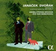 ドヴォルザーク:交響曲第9番『新世界より』、ヤナーチェク:シンフォニエッタ インマゼール&アニマ・エテルナ(日本語解説付)