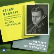 ベートーヴェン(1770-1827)/Violin Concerto: Menuhin(Vn) Furtwangler / Po +mendelssohn: Bpo