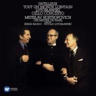 デュティユー(1916-2013)/Cello Concerto: Rostropovich(Vc) Baudo / Paris.o +lutoslawski: Lutoslawski