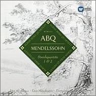 メンデルスゾーン(1809-1847)/String Quartet 1 2 : Alban Berg Q