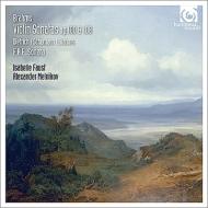 Brahms Violin Sonatas Nos.2, 3, Schumann 3 Romances : I.Faust(Vn)Melnikov(P)+F.A.E.Sonata