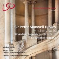 マクスウェル・デイヴィス:交響曲第10番、パヌフニク:交響曲第10番 パッパーノ&ロンドン響