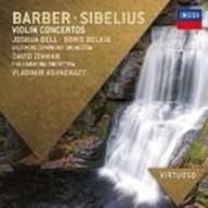 シベリウス:ヴァイオリン協奏曲(ベルキン、アシュケナージ指揮)、バーバー:ヴァイオリン協奏曲(ジョシュア・ベル、ジンマン指揮)