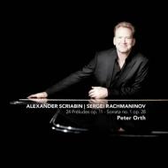 スクリャービン:24の前奏曲、ラフマニノフ:ピアノ・ソナタ第1番 オルト