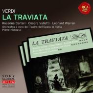ヴェルディ(1813-1901)/La Traviata: Monteux / Rome Opera Carteri Valletti Warren