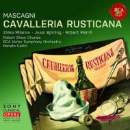 マスカーニ (1863-1945)/Cavalleria Rusticana: Cellini / Rca Victor O Bjorling Milanov Merrill