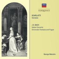 D.スカルラッティ:ソナタ集、バッハ:イタリア協奏曲、半音階的幻想曲とフーガ ジョージ・マルコム(チェンバロ)