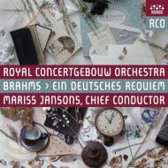 Ein Deutsches Requiem : Jansons / Concertgebouw Orchestra, Kuhmeier, Finley (Hybrid)