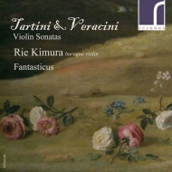 Violin Sonatas: 木村理恵(Vn)Fantasticus +tartini: Devil's Trill, Etc