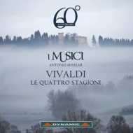 Vivaldi Four Seasons, Britten Simple Symphony : Antonio Anselmi(Vn)I Musici (2012)