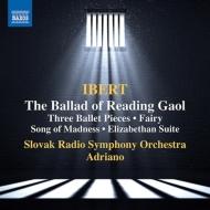 レディング牢獄のバラード、めぐりあい、妖精の郷、狂人の歌、エリザベス朝の組曲 アドリアーノ&スロヴァキア放送響