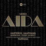 Aida : Pappano / St Cecilia Academic Orchestra & Choir, Harteros, J.Kaufmann, Semenchuk, Tezier, Schrott, etc (2015 Stereo)(3CD)