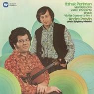 メンデルスゾーン:ヴァイオリン協奏曲、ブルッフ:ヴァイオリン協奏曲第1番 パールマン、プレヴィン&ロンドン響