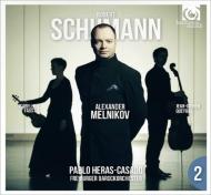 シューマン、ロベルト(1810-1856)/Piano Concerto: Melnikov(P) Heras-casado / Freiburg Baroque O +piano Trio 2