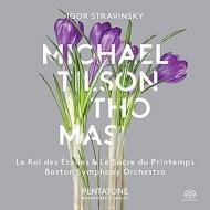 『春の祭典』『星の王』 ティルソン・トーマス&ボストン交響楽団