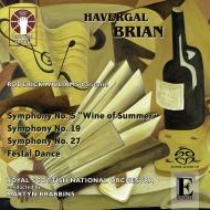 交響曲第5番、第19番、第27番、他 マーティン・ブラビンズ&スコティッシュ・ナショナル管弦楽団