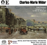 Sym, 1, Violin Concerto, La Nuit: Yates / Royal Scottish National O