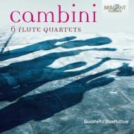 6つのフルート四重奏曲 クァルテット・ドゥエ・ピウ・ドゥエ
