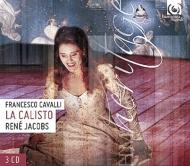 歌劇『カリスト』全曲 ヤーコプス&コンチェルト・ヴォカーレ、バーヨ、ヴィス、キーンリーサイド、他(1994 ステレオ)(3CD)