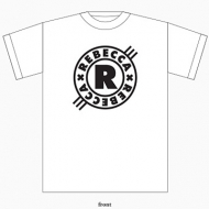 Tシャツ(ホワイト)【S】/ REBECCA -Yesterday, Today, Maybe Tomorrow-Official Goods 2回目