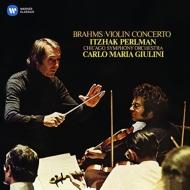 ブラームス(1833-1897)/Violin Concerto: Perlman(Vn) Giulini / Cso
