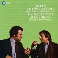 シベリウス(1865-1957)/Violin Concerto: Perlman(Vn) Previn / Pittsburgh So +sinding