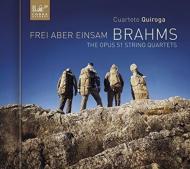 ブラームス(1833-1897)/String Quartet 1 2 : Cuarteto Quiroga