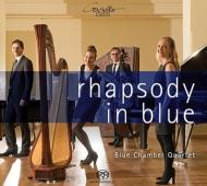 『ラプソディ・イン・ブルー』 ブルー・チェンバー・クヮルテット(ピアノ、ハープ、コントラバス、ヴィブラフォン)