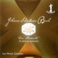 バッハ(1685-1750)/Transcriptions-con Stromenti: Les Muses Galantes