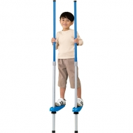 スポーツ竹馬2段式 青