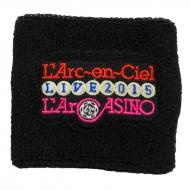 リストバンドB(パイル)【L'Arc〜en〜Ciel LIVE 2015「L'ArCASINO」オフィシャルグッズ】
