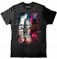 LIVE TシャツB(LED/サイズL)【L'Arc〜en〜Ciel LIVE 2015「L'ArCASINO」オフィシャルグッズ】