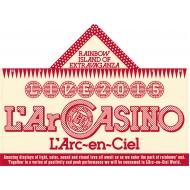 フードタオル【L'Arc〜en〜Ciel LIVE 2015「L'ArCASINO」オフィシャルグッズ】