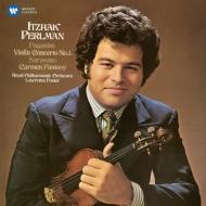 パガニーニ(1782-1840)/Violin Concerto 1 : Perlman(Vn) L.foster / Rpo +sarasate: Carmen Fantasy