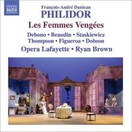 歌劇『復讐する女たち』全曲 R.ブラウン&オペラ・ラファイエット、デボノ、ボーダン、スタスキーヴィッツ、他(2014 ステレオ)