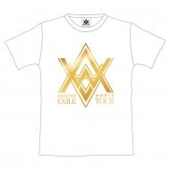 """ツアーTシャツ【L】ホワイト/ EXILE LIVE TOUR 2015 """"AMAZING WORLD"""""""
