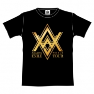 """ツアーTシャツ【XS】ブラック/ EXILE LIVE TOUR 2015 """"AMAZING WORLD"""""""