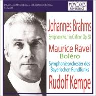 Brahms Symphony No.1, Ravel Bolero : R.Kempe / Bavarian Radio Symphony Orchestra (1965)