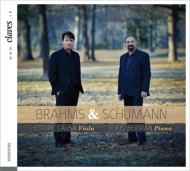 Schumann Viola Arrangement Works, Brahms (Viola)Cello Sonata No.1 : Causa(Va)B.Berman(P)