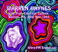 Live From Emerson College, (Boston, Ma.29th Nov 1993)