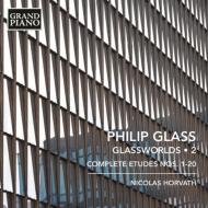 グラスワールド第2集〜ピアノのためのエチュード全曲 ニコラス・ホルヴァート