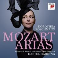 モーツァルト(1756-1791)/Arias: Roschmann(S) Harding / Swedish Rso