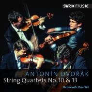 ドヴォルザーク(1841-1904)/String Quartet 10 13 : Bennewitz Q