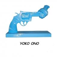 19cm Knotted Gun Sculpture(Yoko Ono)