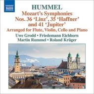 (Hummel)Symphonies Nos.35, 36, 41 : Grodd(Fl)F.Eichhorn(Vn)Rummel(Vc)Kruger(P)