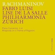 ピアノ協奏曲全集、パガニーニの主題による狂詩曲 リーズ・ドゥ・ラ・サール、ファビオ・ルイージ&フィルハーモニア・チューリッヒ(3CD)