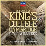 『アーゴ録音全集』 ウィルコックス&ケンブリッジ・キングズ・カレッジ合唱団(29CD)