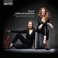 『ダンス!〜ヴァイオリンとアコーディオンによる二重奏』 ヒュイネン、グローテンユイス